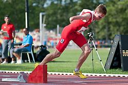MATZINGER Gunther, ITA, 400m, T46, 2013 IPC Athletics World Championships, Lyon, France