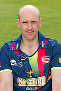 James Treadwell of Kent  during the Kent County Cricket Club Headshots 2017 Press Day at the Spitfire Ground, Canterbury, United Kingdom on 31 March 2017. Photo by Martin Cole.