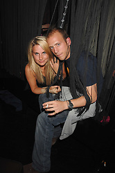 TITCH GRAHAM and CARLO CORELLI at a party to launch the new upstairs area of Mamilanji, 107 Kings Road, London SW3 on 19th April 2007.<br /><br />NON EXCLUSIVE - WORLD RIGHTS