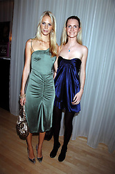 Left to right, sisters POPPY DELEVINGNE and CHLOE DELEVINGNE at an Evening at Sanderson in Aid of CLIC Sargent held at The Sanderson Hotel, 50 Berners Street, London W1 on 15th May 2007.<br />