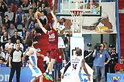 DESCRIZIONE : Cremona Lega A 2014-2015 Vanoli Cremona Umana Reyer Venezia<br /> GIOCATORE : Cameron Clark<br /> SQUADRA : Vanoli Cremona<br /> EVENTO : Campionato Lega A 2014-2015<br /> GARA : Vanoli Cremona Umana Reyer Venezia<br /> DATA : 26/04/2015<br /> CATEGORIA : Stoppata Controcampo<br /> SPORT : Pallacanestro<br /> AUTORE : Agenzia Ciamillo-Castoria/F.Zovadelli<br /> GALLERIA : Lega Basket A 2014-2015<br /> FOTONOTIZIA : Cremona Campionato Italiano Lega A 2014-15 Vanoli Cremona  Umana Reyer Venezia<br /> PREDEFINITA : <br /> F Zovadelli/Ciamillo
