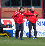 Dundee manager Paul Hartley - Dundee v Hamilton Academical in the Ladbrokes Scottish Premiership at Dens Park, Dundee, Photo: David Young<br /> <br />  - &copy; David Young - www.davidyoungphoto.co.uk - email: davidyoungphoto@gmail.com