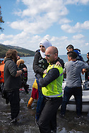 One million asylum seekers, many of them refugees from Syria, Iraq, and Afghanistan, crossed to Europe by sea in 2015. Half of these came via the Greek island of Lesbos, which is located in the Aegean Sea and has a resident population of about 86,000 people.<br />