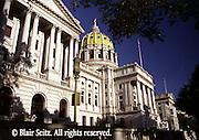 PA Capitol, Harrisburg, PA, Architect Joseph Huston