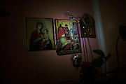 Religious icons depicting Patron Saints are seen in almost every Serbian home.
