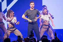 © Licensed to London News Pictures. 30/10/2018. London, UK. LIAM PAYNE performs at the Westfield London 10th Anniversary Celebrations. Photo credit: Ray Tang/LNP