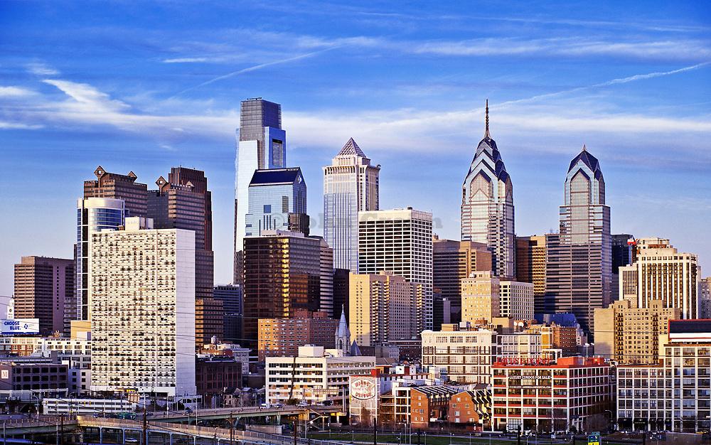 Philadelphia skyline, Pennsylvania, USA