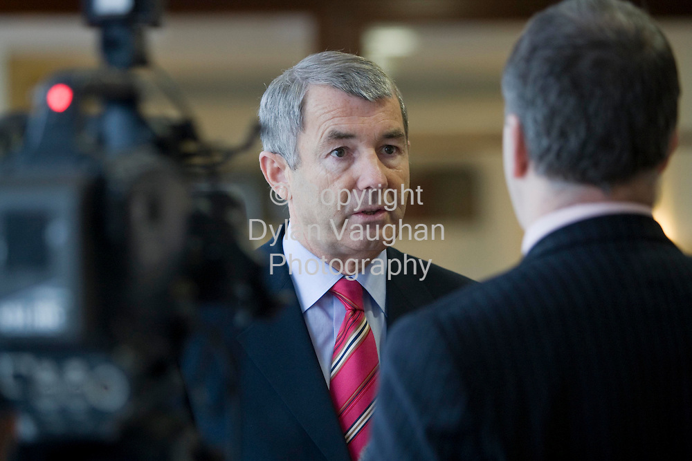 22/1/2008.Independent TD Michael Lowry pictured at the An Bord Pleanalla oral hearing at the Hotel Minella in Clonmel yesterday..Picture Dylan Vaughan.