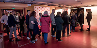 "Members of the audience attending the special screening of BBC drama Shakespeare & Hathaway – Private Investigators, is due to hit TV screens late February, 150 lucky people got the chance to view a private screening of the first episode.<br /> On Friday 9 February, The Other Place in Stratford-upon-Avon, an actual location featured in the drama, the venue to held the screening and, a special question and answer session hosted by Midlands Today presenter Rebecca Wood. She was joined by Jo Joyner, Mark Benton, Patrick Walshe McBride and the show's producer Ella Kelly.<br /> The ten-part drama from BBC Studios, created by Paul Matthew Thompson and Jude Tindall, will see Frank Hathaway (Benton), a hardboiled private investigator, and his rookie sidekick Luella Shakespeare (Joyner), form the unlikeliest of partnerships as they investigate the secrets of rural Warwickshire's residents.<br /> Beneath the picturesque charm lies a hotbed of mystery and intrigue: extramarital affairs, celebrity stalkers, missing police informants, care home saboteurs, rural rednecks and murderous magicians. They disagree on almost everything, yet somehow, together, they make a surprisingly effective team – although they would never admit it.<br /> Will Trotter, head of BBC Daytime Drama at the BBC Drama Village, comments, ""For years we have been producing quality drama at the BBC Drama Village, and Shakespeare & Hathaway is no different. It's the perfect programme to indulge in, and like many of the programmes that we make in Birmingham, we've been out and about in the county to film in some of the best locations the Midlands has to offer. <br /> ""We're looking forward to seeing the audience reactions to the first episode, it's got a whodunit storyline with a brilliant introduction to the main characters, but leaves you with some questions which makes the audience want to come back for more!"" <br /> Notes to editors<br /> For more information on the series you can contact hollie.druce@bbc.co.uk. <br /> Quotes from th"