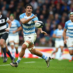 LONDON, ENGLAND - DECEMBER 01: Pablo Matera of Argentina during the Killik Cup match between Barbarians and Argentina at Twickenham Stadium on December 01, 2018 in London, England. (Photo by Steve Haag/Gallo Images)