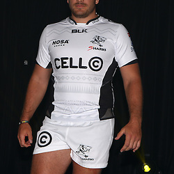 DURBAN, SOUTH AFRICA, December 3 2015 - Dale Chadwick during The Cell C Sharks Official Launch and unveiling of The Cell C Sharks Super Rugby Jersey at Growthpoint Kings Park in Durban, South Africa. (Photo by Steve Haag)<br /> images for social media must have consent from Steve Haag