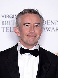 Steve Coogan in the press room during the Virgin Media BAFTA TV awards, held at the Royal Festival Hall in London. Photo credit should read: Doug Peters/EMPICS