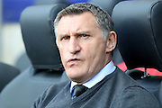 Coventry Manager Tony Mowbray during the Sky Bet League 1 match between Coventry City and Bradford City at the Ricoh Arena, Coventry, England on 19 April 2016. Photo by Chris Wynne.