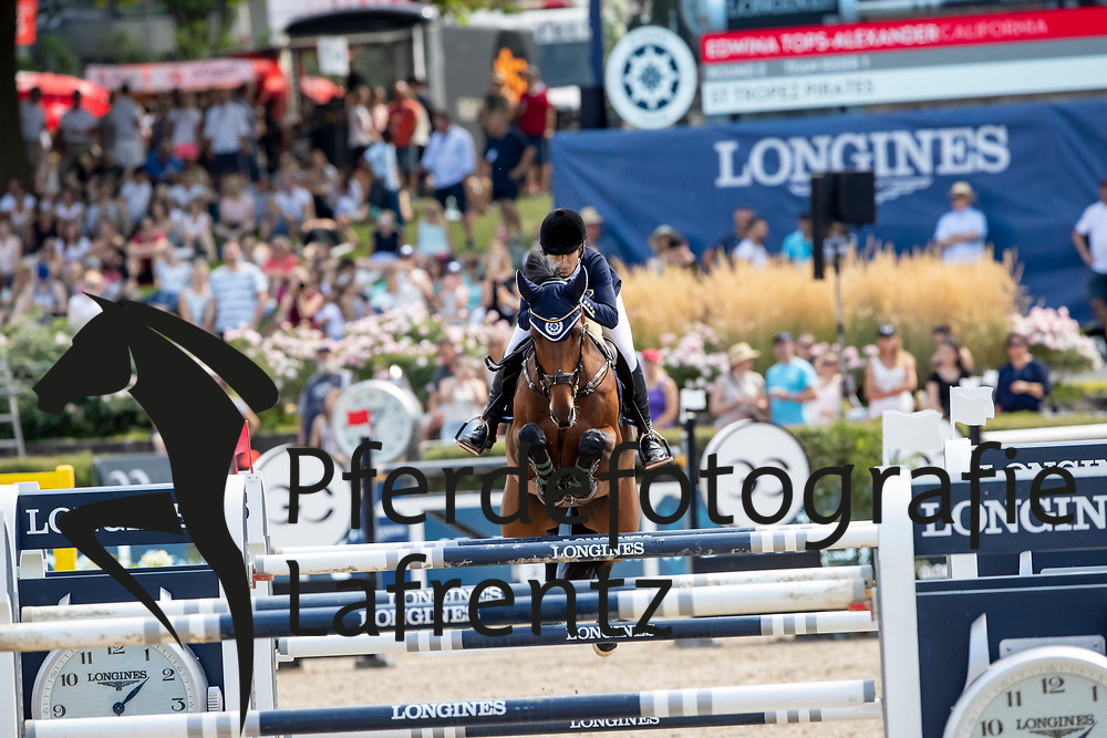 TOPS-ALEXANDER Edwina (AUS), California<br /> Berlin - Global Jumping Berlin 2018<br /> 2. Wertung für Global Champions League<br /> 28. Juli 2018<br /> © www.sportfotos-lafrentz.de/Stefan Lafrentz