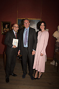 ANDREAS CAMPOMAR, WILLIAM CASH, LADY LAURA CATHCART,  Restoration Heart A memoir by William Cash. Philip Mould and Co. 18 Pall Mall. London. 10 September 2019