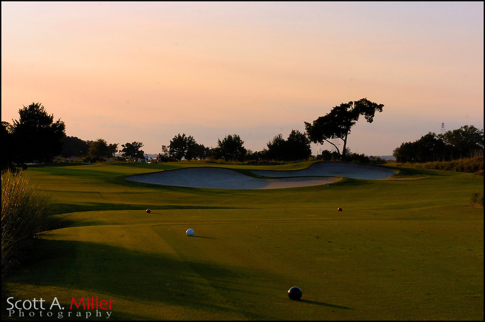 Feb 12, 2007:  No. 17 on the Seaside Course at Sea Island, Ga....© 2007 Scott A. Miller