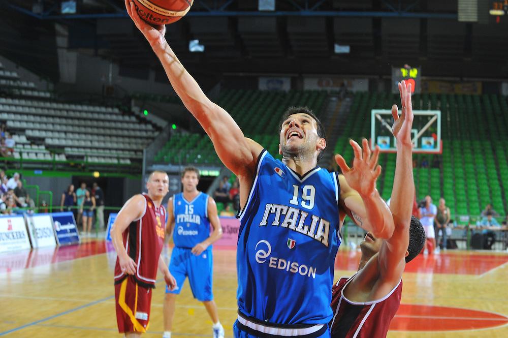 DESCRIZIONE : Firenze I&deg; Torneo Nelson Mandela Forum Italia Macedonia<br /> GIOCATORE : Marco Carraretto<br /> SQUADRA : Nazionale Italia Uomini <br /> EVENTO : I&deg; Torneo Nelson Mandela Forum <br /> GARA : Italia Macedonia<br /> DATA : 16/07/2010 <br /> CATEGORIA : Tiro<br /> SPORT : Pallacanestro <br /> AUTORE : Agenzia Ciamillo-Castoria/M.Gregolin<br /> Galleria : Fip Nazionali 2010