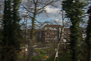 New Housing development near Sevenoaks from train. 9 December 2015