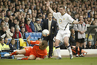 Photo: Aidan Ellis.<br /> Leeds United v Luton Town. Coca Cola Championship. 10/03/2007.<br /> Leeds Dennis Wise watches the action in front of him