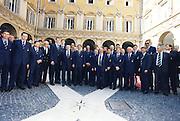Incontro con D'Alema 1999<br /> team