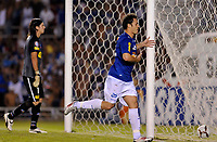 20100224: BELO HORIZONTE, BRAZIL - Cruzeiro vs Colo Colo: Copa Libertadores 2010. In picture: Kleber (Cruzeiro) celebrating goal. PHOTO: CITYFILES
