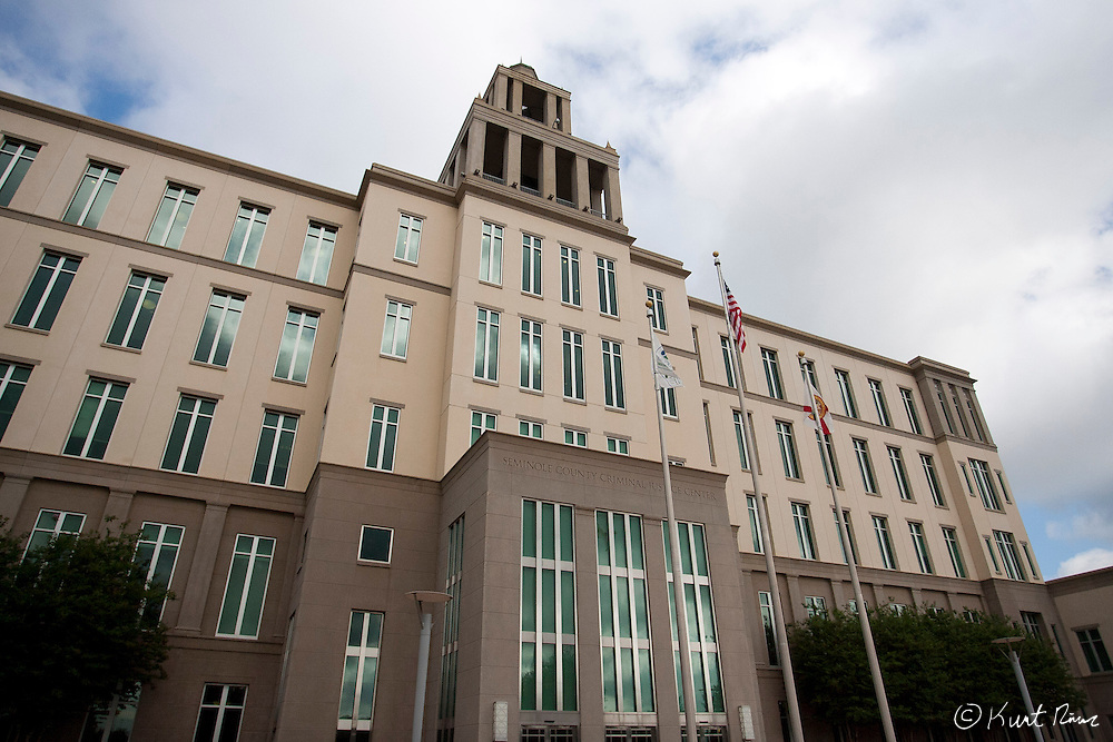 April 20, 2012 - Sanford, Florida, U.S. The Sanford Criminal Justice Center in Sanford, Florida.