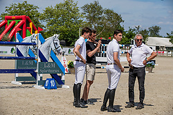 Philippaerts Anthony, Philippaerts Thibault, Philippaerts Olivier, BEL<br /> Belgisch Kampioenschap - Azelhof 2019<br /> © Hippo Foto - Dirk Caremans