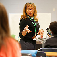 Thomas Wells | Buy at PHOTOS.DJOURNAL.COM<br /> Mooreville High School's Alegbra teacher Linda Hatch