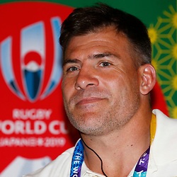 Schalk Brits during the Kagoshima training camp: Media conference,Official RWC 2019 Arrivals Media Conference – Head coach and captain, assistant coach and six players available for interviews Friday 13th September 2019 (Mandatory Byline -Steve Haag Sports Hollywoodbets)