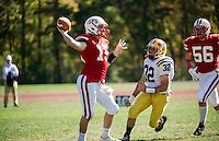 St Paul's School Varsity Football with BB&N.  ©2014 Karen Bobotas Photographer