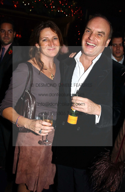NICHOLAS COLERIDGE and  at a party hosted by Tatler magazine to celebrate the publication of the 2004 Little Black Book held at Tramp, 38 Jermyn Street, London SW1 on 10th November 2004.<br /><br />NON EXCLUSIVE - WORLD RIGHTS