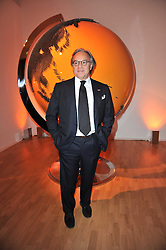 DIEGO DELLA VALLE  President and CEO of the Italian leather goods company Tod's, at the TOD'S Art Plus Drama Party at the Whitechapel Gallery, London on 24th March 2011.