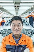 CHINA / Chengdu  /  12/11/2013<br /> <br /> Volvo Cars Plant in Chengdu / Xiao Liming Car Maker Volvo Cars Chengdu <br /> <br /> <br /> &copy; Daniele Mattioli