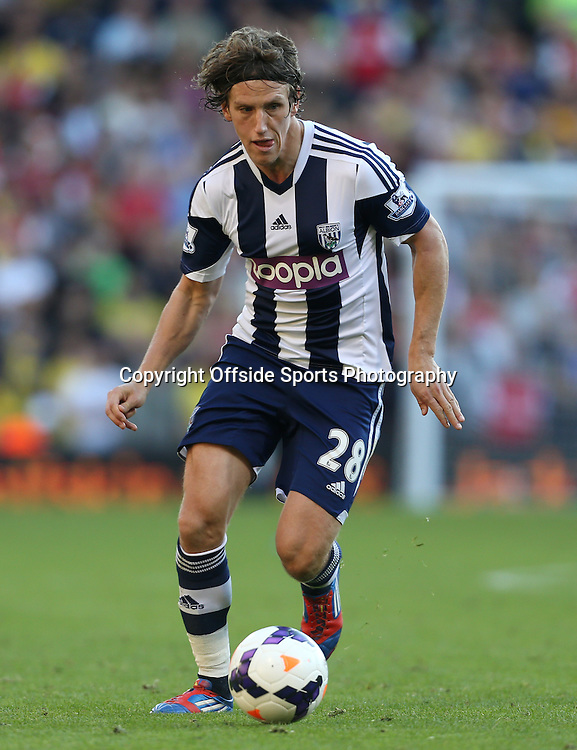 6th October 2013 - Barclays Premier League - West Bromwich Albion v Arsenal - Billy Jones of West Brom - Photo: Simon Stacpoole / Offside.