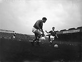 1960 - Soccer International: Ireland v Wales at Dalymount Park