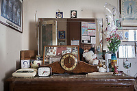 VERBANIA, ITALY - 18 APRIL 2017: Personal belongings of Emma Morano are seen here in her room in Verbania, Italy, on April 18th 2017.<br /> <br /> Emma Morano, born in 1899, was an Italian supercentenarian who, prior to her death at the age of 117 years and 137 days, was the world's oldest living person whose age had been verified, and the last living person to have been verified as being born in the 1800s. She died on April 15th 2017.