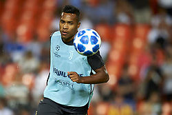 September 19, 2018 - Valencia, Spain - Alex Sandro during the Group H match of the UEFA Champions League between Valencia CF and Juventus at Mestalla Stadium on September 19, 2018 in Valencia, Spain. (Credit Image: © Jose Breton/NurPhoto/ZUMA Press)