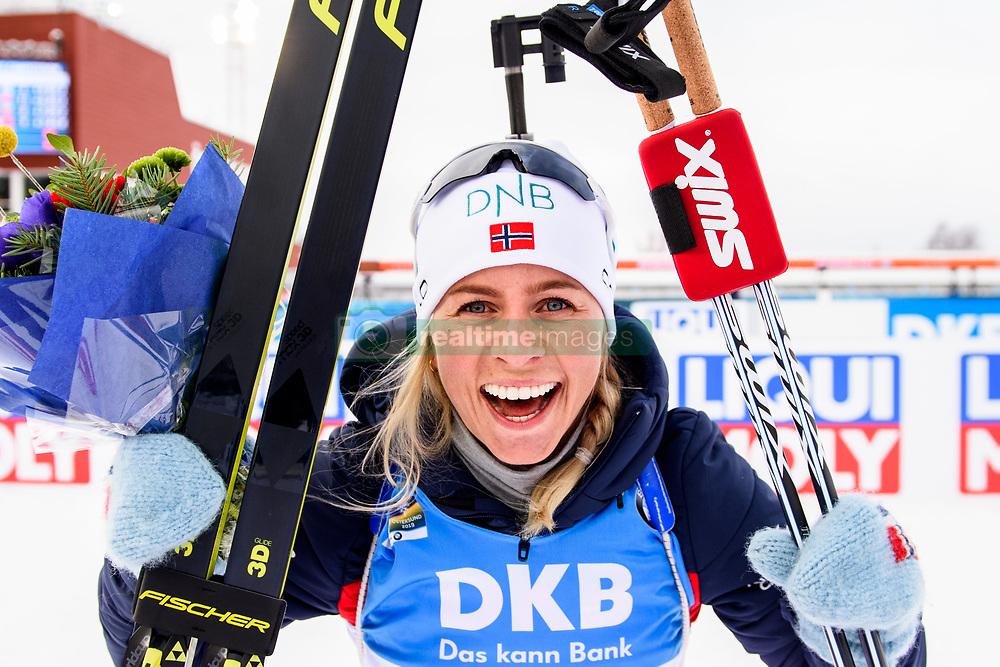 March 10, 2019 - –Stersund, Sweden - 190310 during the Women's 10 km Pursuit during the IBU World Championships Biathlon on March 10, 2019 in Östersund..Photo: Petter Arvidson / BILDBYRÃ…N / kod PA / 92254 (Credit Image: © Petter Arvidson/Bildbyran via ZUMA Press)