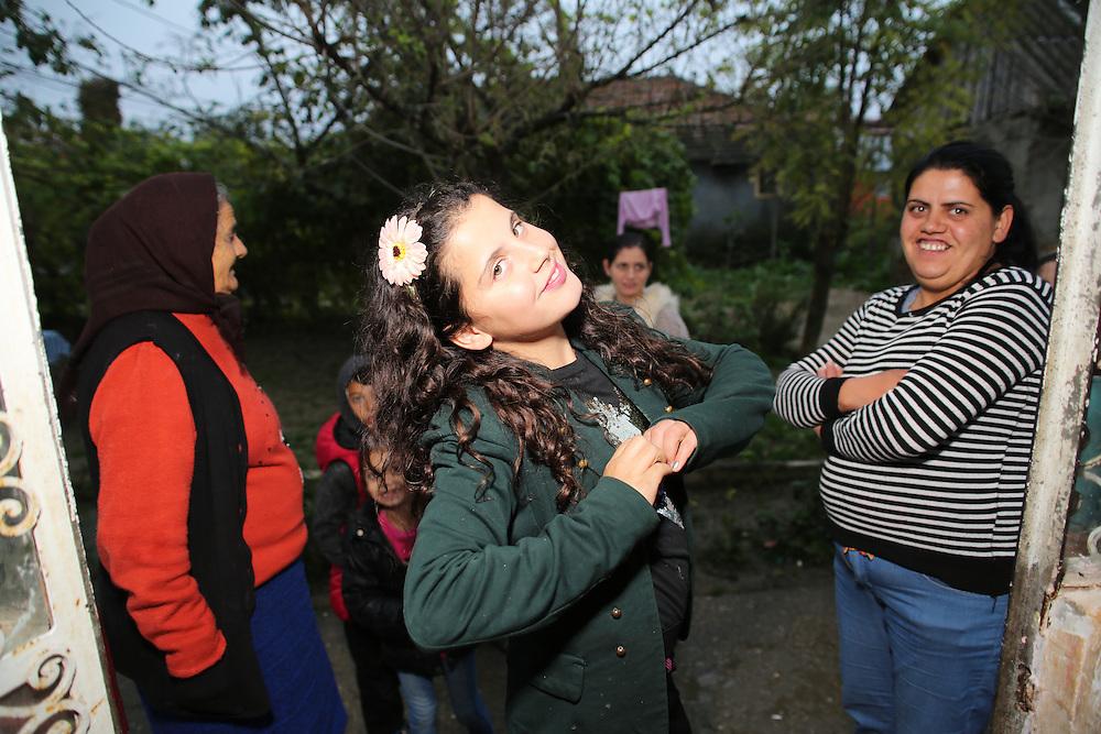 Razvan's niece and Adela, Razvan's oldest sister
