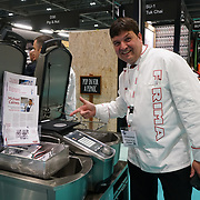 London, England, UK. 21th September 2017.  Hundreds of stalls from all over the globe exhibition top quality food and drinks at Excel London.