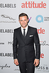 EDITORIAL USE ONLY<br /> Harry Judd attends the 2016 Attitude Award the 2016 Attitude Awards in association with Virgin Holidays, at 8 Northumberland Avenue, London.