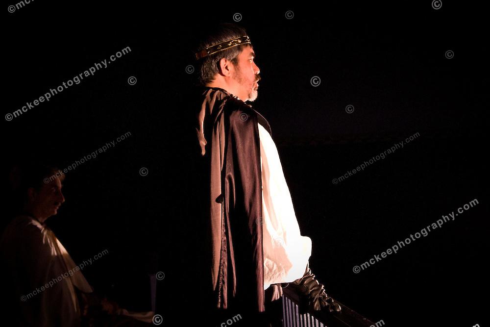 Romeo and Juliet at Riverside Theatre Works, directed by Meghan Kenny, Feb 6, 2011. Romeo- Nicholas McNeil, Benvolio- Michael Joyce, Sampson/Apothacary- Jack Serio, Gregory/John- J.T. McNeil, Lord Montague- Ben Brenner, Lady Montague- Mary Ferrara, Juliet- Niamh O'Connor, Tybalt- David Robinson, Abram/Paris- Jeremy Mele, Lady Capulet- Claire Lukaczyn, Lord Capulet- Mark Bourbeau, Friar Lawrence- Craig Truax, Mercutio- Joshua Collins, Prince- Charles Hughes, Nurse- Theresa Chiasson