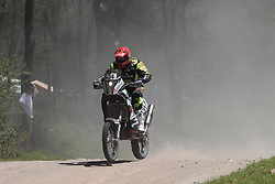 Slovenian rider Miran Stanovnik during Stage1 at rally Dakar 2014 on January 05, 2014, from Rosario to San Luis / Argentina. Photo by Maindru