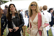 Allegra Donn; Caitlin Mavroleon; Maryam D'Abo, The Cartier Style et Luxe Concours lunch at the Goodwood Festival of Speed. July 13, 2008  *** Local Caption *** -DO NOT ARCHIVE-© Copyright Photograph by Dafydd Jones. 248 Clapham Rd. London SW9 0PZ. Tel 0207 820 0771. www.dafjones.com.