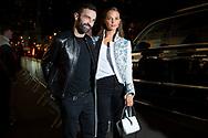Nicolas Ghesquiere and Alicia Viklander at Louis Vuitton's Volez Voguez Voyagez NYC