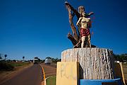 Carneirinho_MG, Brasil...Entrada de Sao Sebastiao do Pontal, Minas Gerais...The entrance in Sao Sebastiao do Pontal, Minas Gerais...Foto: LEO DRUMOND / NITRO