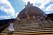 Jetavanaramaya is a stupa located in the ruins of Jetavana in the sacred world heritage city of Anuradhapura, Sri Lanka