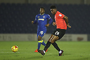Brighton & Hove Albion central midfielder Rohan Ince (24) during the EFL Trophy match between AFC Wimbledon and U23 Brighton and Hove Albion at the Cherry Red Records Stadium, Kingston, England on 6 December 2016.