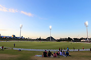 General view of Bay Oval during the Burger King Super Smash Twenty20 cricket match Knights v Auckland Aces played at Bay Oval, Mount Maunganui, New Zealand on Saturday 16 December 2017.<br /> <br /> Copyright photo: © Bruce Lim / www.photosport.nz
