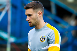 Charlie Cooper of Newport County warms up - Mandatory by-line: Ryan Crockett/JMP - 12/05/2019 - FOOTBALL - One Call Stadium - Mansfield, England - Mansfield Town v Newport County - Sky Bet League Two Play-Off Semi-Final 2nd Leg